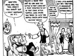 Comic Strip Centennial – Our Boarding House The Daily Cartoonist