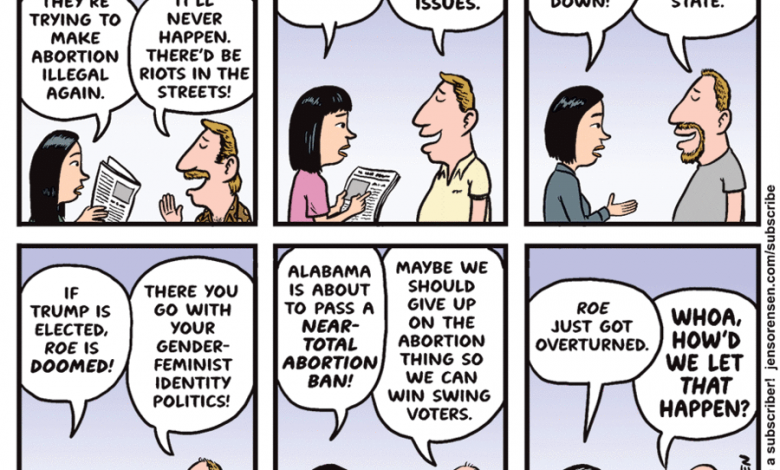 Not with a bang, but a bicker The Daily Cartoonist
