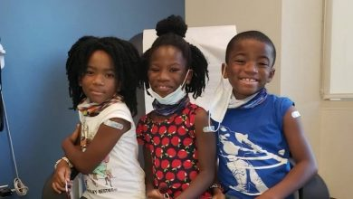 Raleigh triplets participate in Duke's Pfizer COVID vaccine clinical trial for young kids