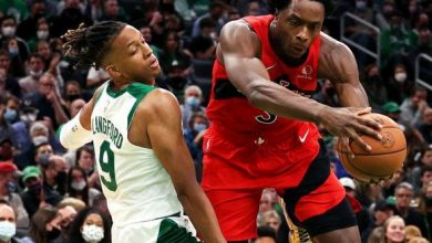 Raptors run Celtics out of building as a star is born in rookie Barnes