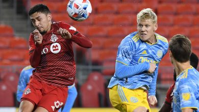 TFC fights Philadelphia to a 2-2 draw after a determined comeback falls just short