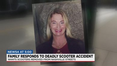 Texas family calls for scooters to be removed from Nashville street after woman's death | Davidson County