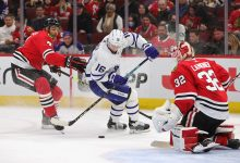 WINDS OF CHANGE: Maple Leafs rally in Chicago for vital win