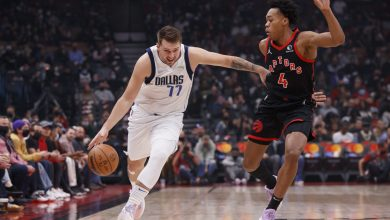 Early foul trouble, Doncic, doom young Raptors in loss to Dallas