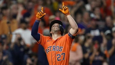 Astros come alive at plate to even World Series